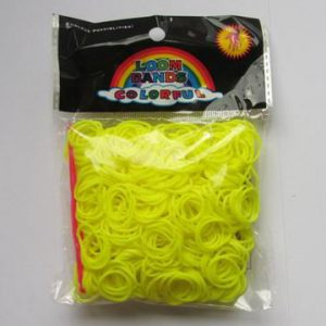 Loom Bands neon gul