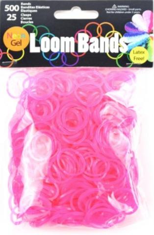 Loom Bands Ensfarvet