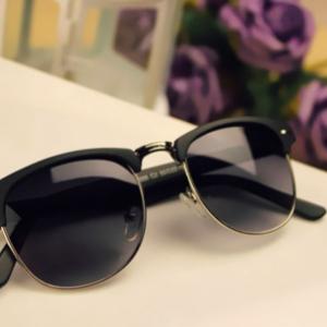 Unisex Clubmaster solbriller